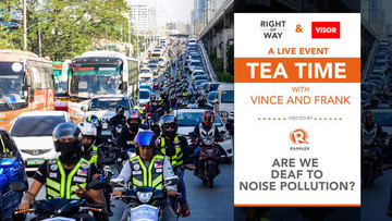 Tea Time with Vince and Frank: Are we deaf to noise pollution?