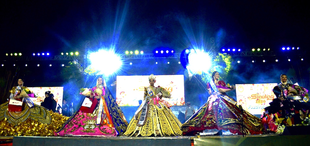 Borongan City's Monika Afable is Sinulog Festival Queen 2020