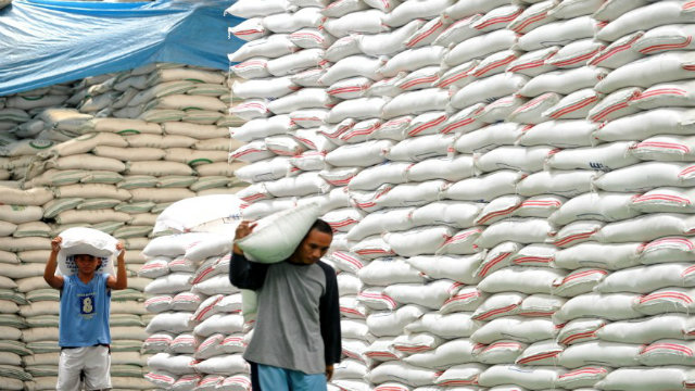 Over 200 000 Sacks Of Rice At Manila Port Up For Auction