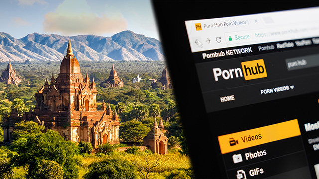 Porn movie shot at holy site outrages Myanmar