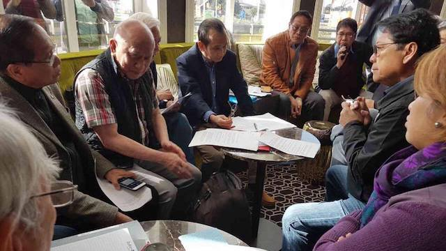PEACE TALKS. The Philippine government and the National Democratic Front hold the 4th round of talks in the Netherlands. Photo courtesy of Raul Francia/OPAPP