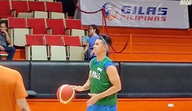 Kiefer Ravena marks basketball return by joining Gilas practice