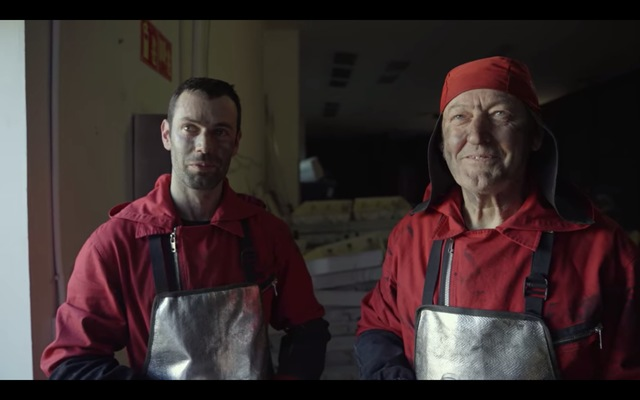 WELDERS TURNED ACTORS. Real-life welders Manuel Manceras Sr. and Manuel Manceras Jr. were brought in as minor cast members in the show. Photo screengrabbed from Netfix.