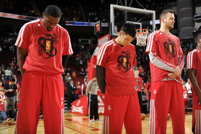6cd7eab0acbda The Houston Rockets also honored Chinese New Year in 2013 with their warmup