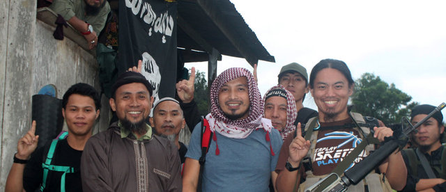Photo: Emir of East Asia Shaykh Abu 'Abdullah al Muhajir, aka ASG leader Isnilon Hapilon as seen in Rumiyah 10