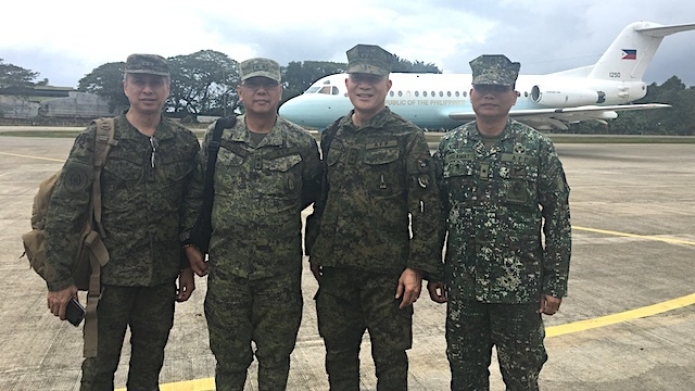 Another PH Marines Chief Assigned To Guard Scarborough, Benham