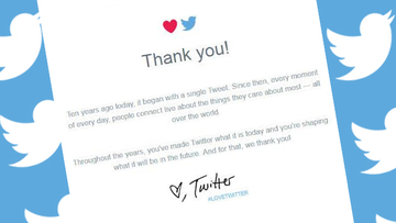 Twitter Celebrates 10th Birthday With New Ad Thank You Notes