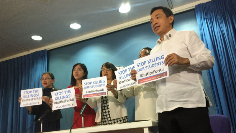 Makabayan bloc leaves House majority