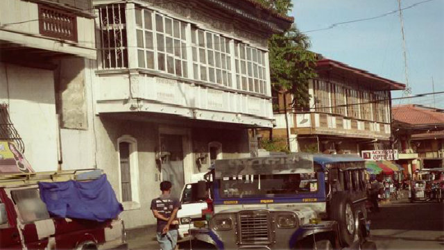 ANCESTRAL HOUSES. Several ancestral houses line up in Biñan's town center. All photos by John Tugano
