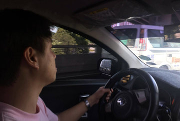 An Uber driver's fear: That's my only source of income