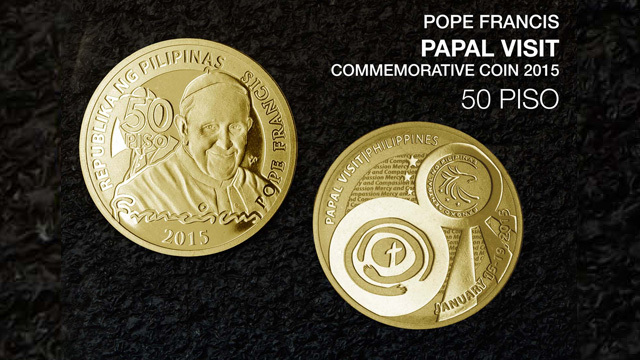 BSP To Produce More Pope Francis Coins