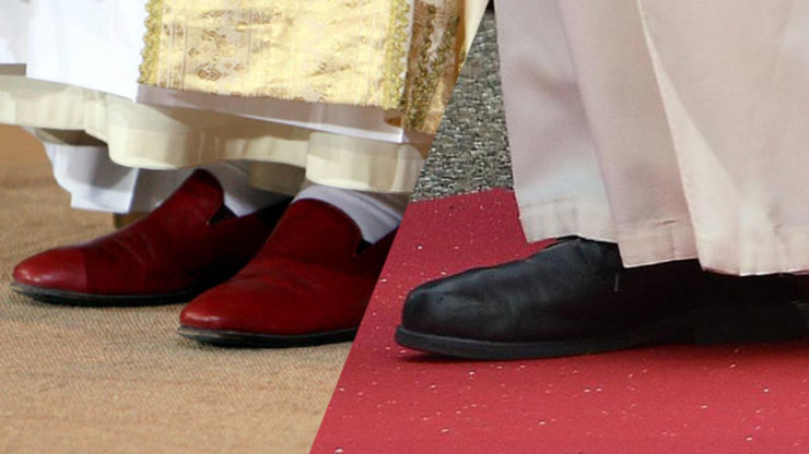 Why Are Papal Shoes Red