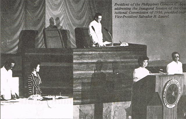 1987 philippine constitution Metro manila (cnn philippines) — thirty years ago, they helped draft a new constitution for the country, following the 1986 revolution that deposed the marcos regime and restored democracy now, on constitution day, framers of the 1987 constitution are opposing planned ammendments to the charter.
