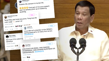 He followed the script!': #SONA2018 reactions, hugot, and memes