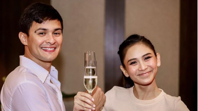 Mr and Mrs Guidicelli': Matteo posts first photo with wife Sarah