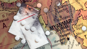 Myanmar makes record drug bust with 30 million meth pills