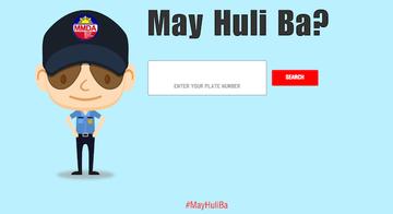 May Huli Ba? MMDA's website lets motorists check traffic violations