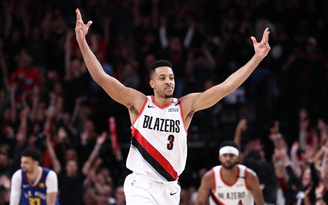 1676abc97 Trail Blazers survive Nuggets in 4OT thriller to go up 2-1