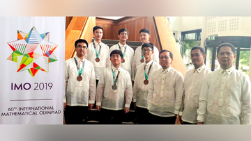 Philippine team wins medals at 2019 International Mathematical Olympiad