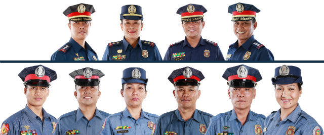 Outstanding police officers named