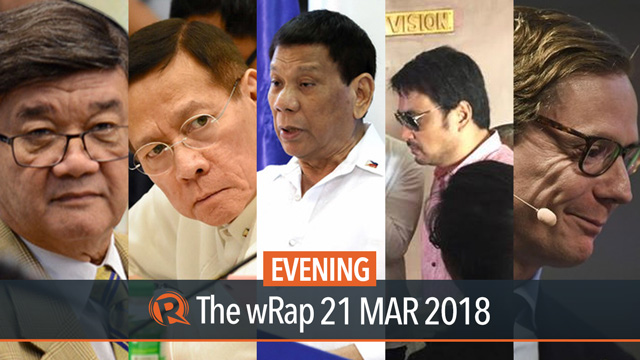 Osmeña on Aguirre, Duque on HIV, Duterte on Kuwait deployment ban | Evening wRap