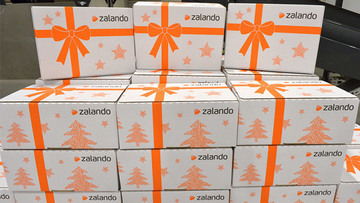 737c59c3f63 ZALANDO. A file photo dated 12 December 2012 showing shipments ready to be  sent out