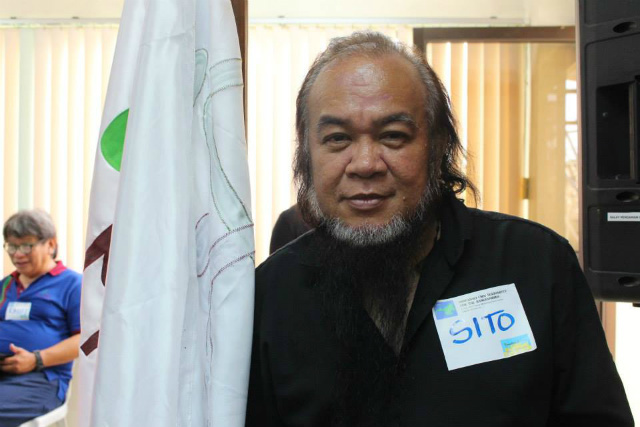STILL ALIVE. Father Teresito 'Chito' Soganub has been one of the hostages by local terrorists in Marawi City since May 23. File photo by PIA Lanao del Sur on Facebook