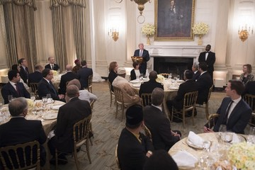Trump Hosts First Iftar Dinner At White