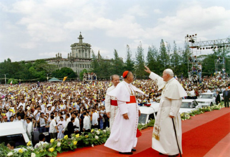 Pope John Paul Ii Quotes Youth: John Paul II In Manila: His 7 Best Words For Filipinos