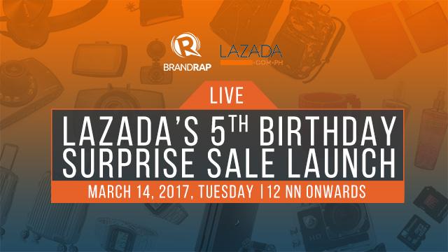 LIVE: Lazada's 5th Birthday Surprise Sale launch