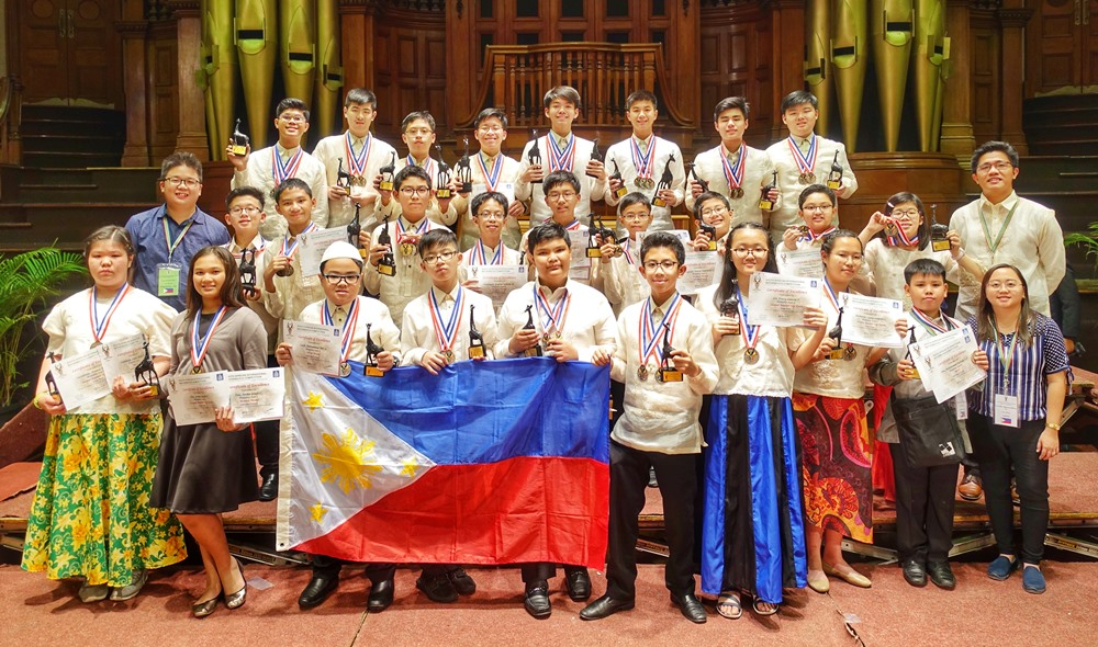 Pinoy math wizards win 35 awards in South Africa contest