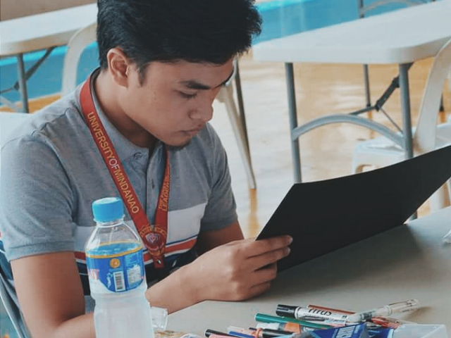 Davao student wins global 'Venom' poster contest