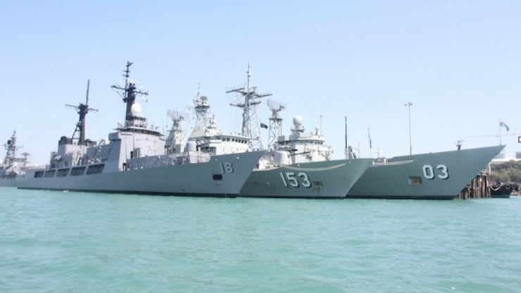 Ph Warship Arrives In Australia Scenes When It Crossed The Equator