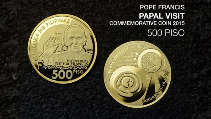 BSP To Issue Commemorative Pope Francis Coins