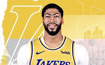 check out df4fa 9f42a Anthony Davis to wear No. 3 as LeBron's 23 nixed