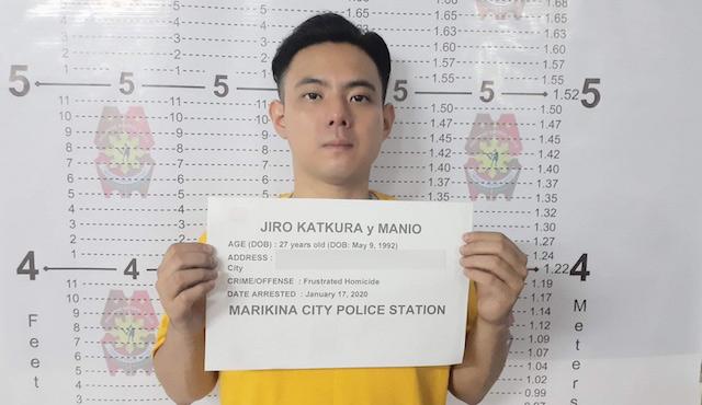 Jiro Manio arrested in Marikina over stabbing incident