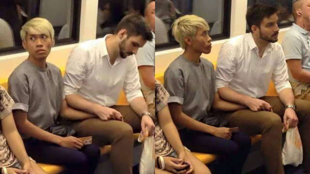 Gay Men Holding Hands On Train Bullied Online-3260