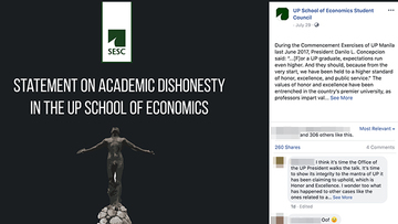 Honor before excellence': Students condemn cheating in U P