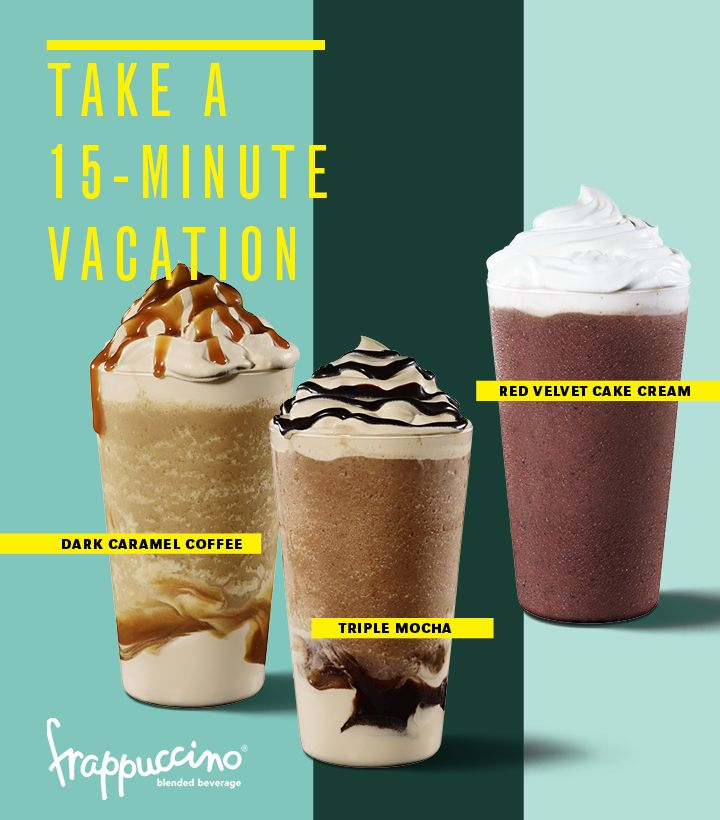 Look Starbucks Offers 4 New Summer Frappucino Flavors And