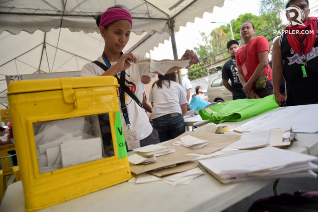 POSTPONEMENT. The Senate and the House of Representatives have passed bills seeking to postpone the May 2020 barangay and SK elections to either December 2022 or May 2023. File photo by LeAnne Jazul/Rappler
