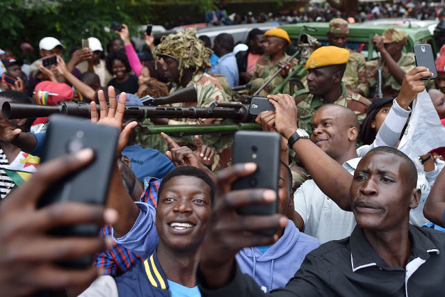 ZIMBABWE ONLINE. Photo by Getty Images/AFP