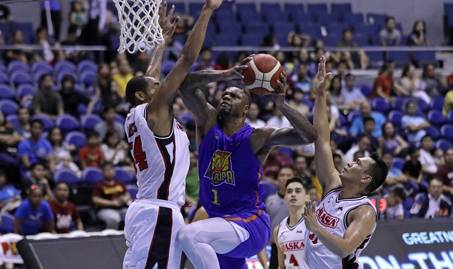 Jones drops another 40-point game as TNT topples Alaska