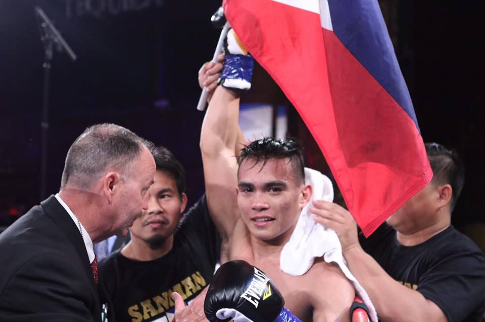 The last Pinoy standing in Bolt of Talent