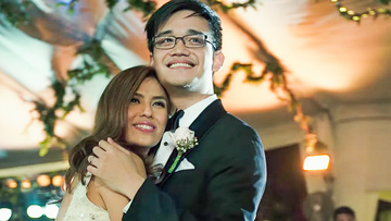 Nikki Gils Wedding.Watch New Nikki Gil Bj Albert Wedding Video Shows Touching Speech