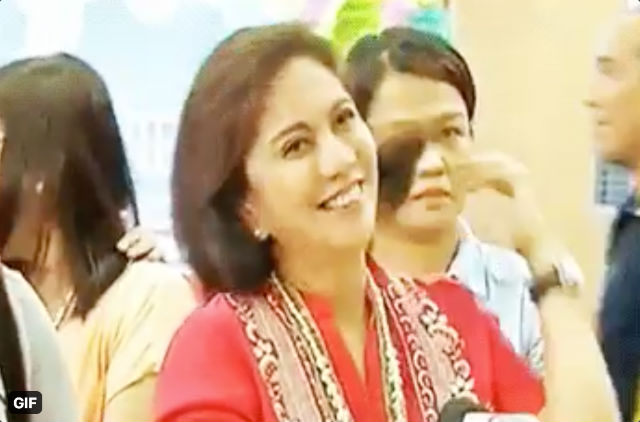 Cue the hair flip! Frontliner helper Robredo throws shade at PACC critic