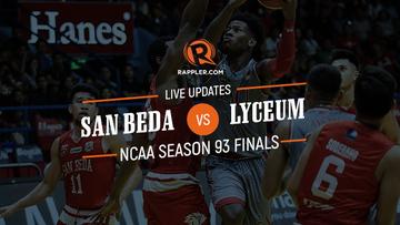 LIVE BLOG: NCAA Season 93 Finals Game 2 – San Beda vs Lyceum