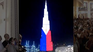 WATCH: Burj Khalifa lit in Philippine colors for