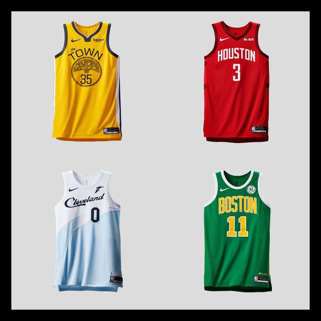 d05f4fd9f33 LOOK: NBA playoff teams get Earned Edition uniforms