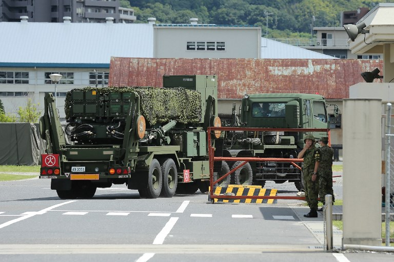 Japan deploys missile defense over North Korea threat to Guam