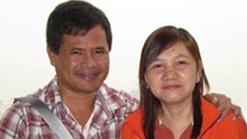 MISSING: Camarines Norte governor's wife, aide